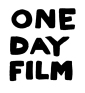 one day film logo-72dpi - zwart transparant